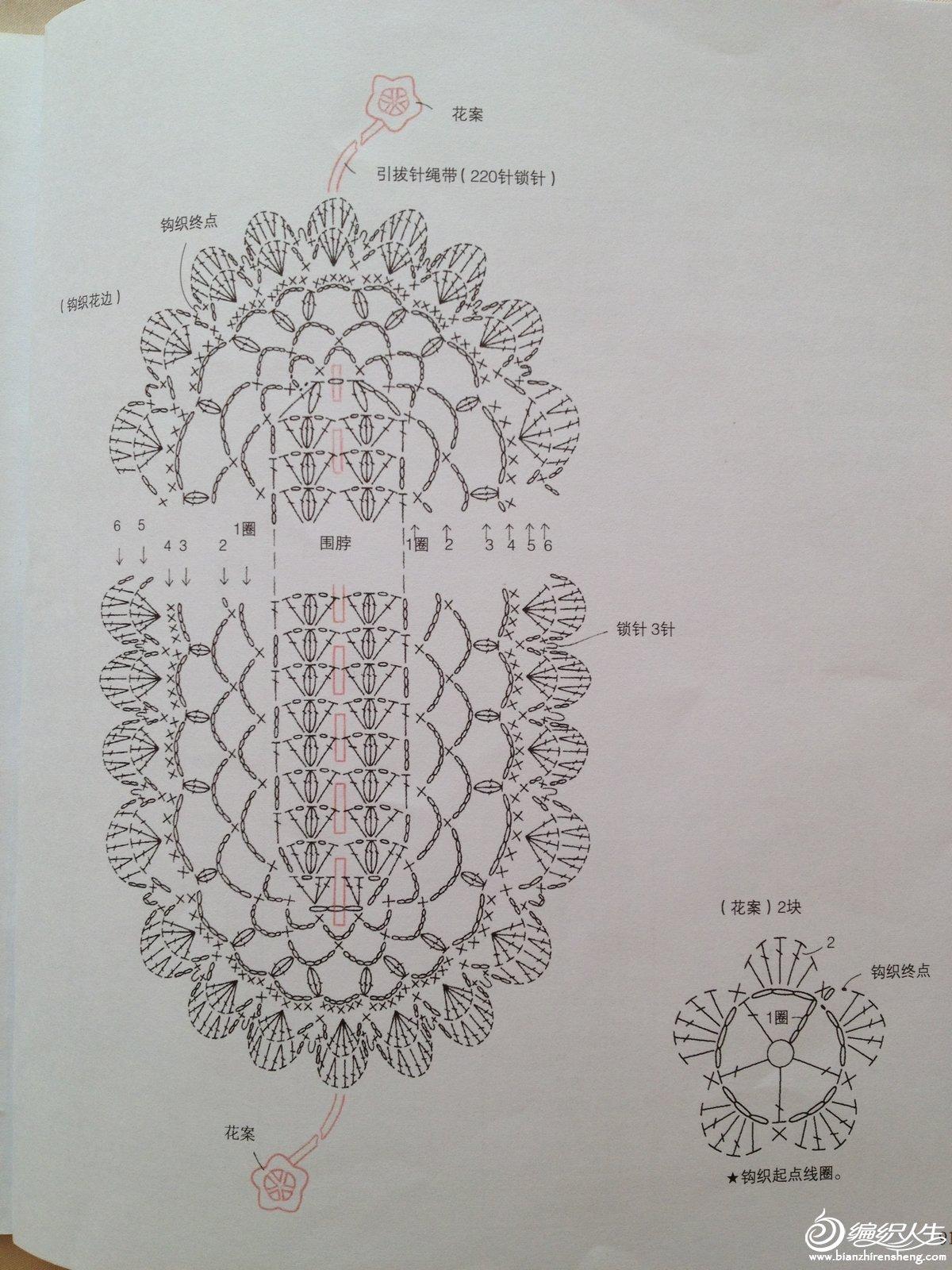 花围巾图解2