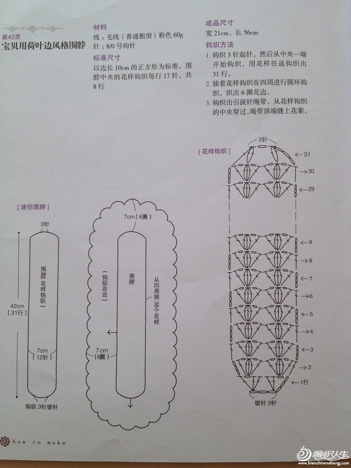 花围巾图解1