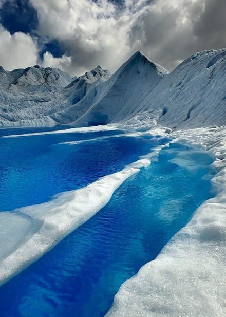 智利的冰川