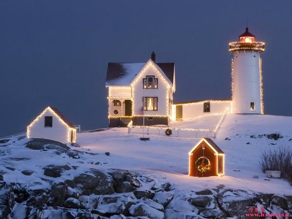 拉普兰 世界闻名的圣诞老人的故乡