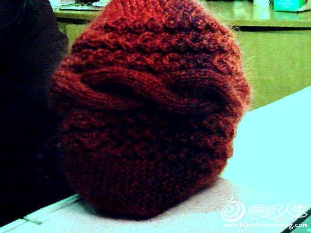 长颈鹿帽子编织图解