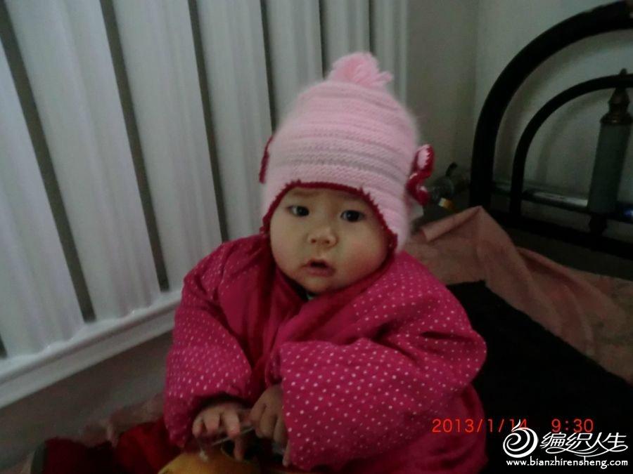 我给宝宝织的小帽子