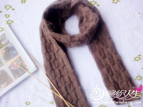 深驼方块羊绒围巾1.jpg
