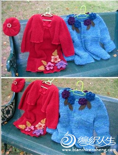 儿童毛衣开衫图片 - 编织人生