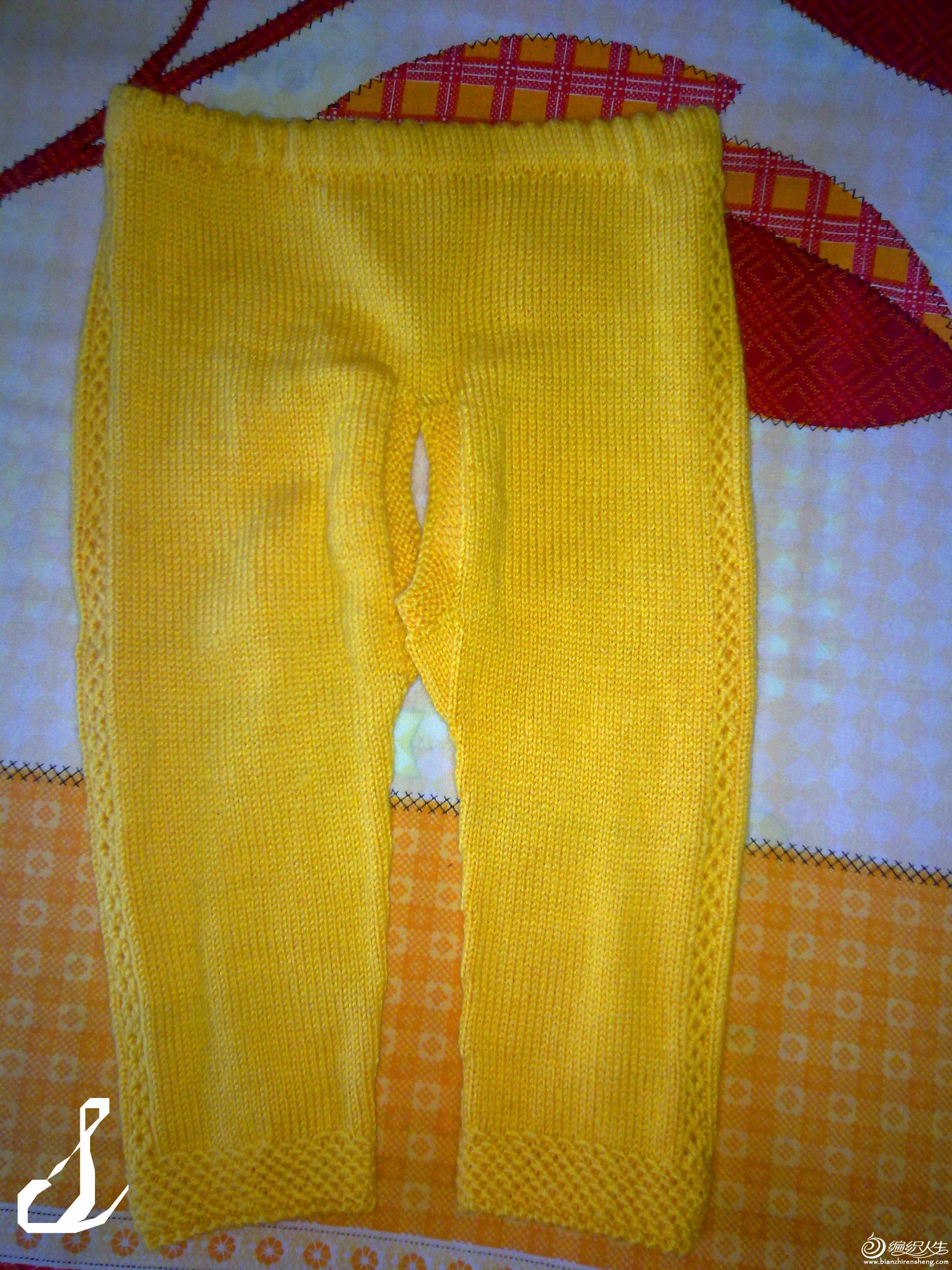 小裤子。侧边的花纹是重点~
