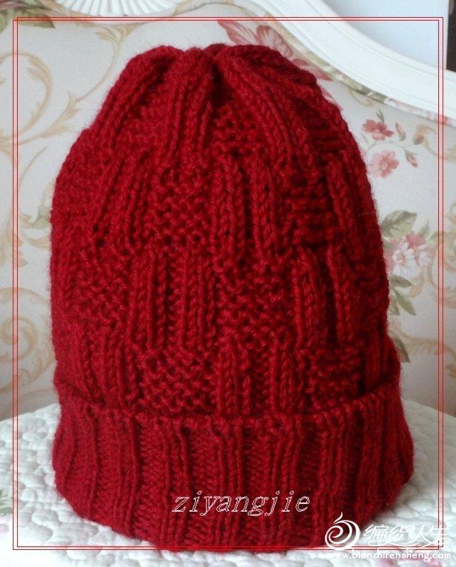 欧式帽子编织图解