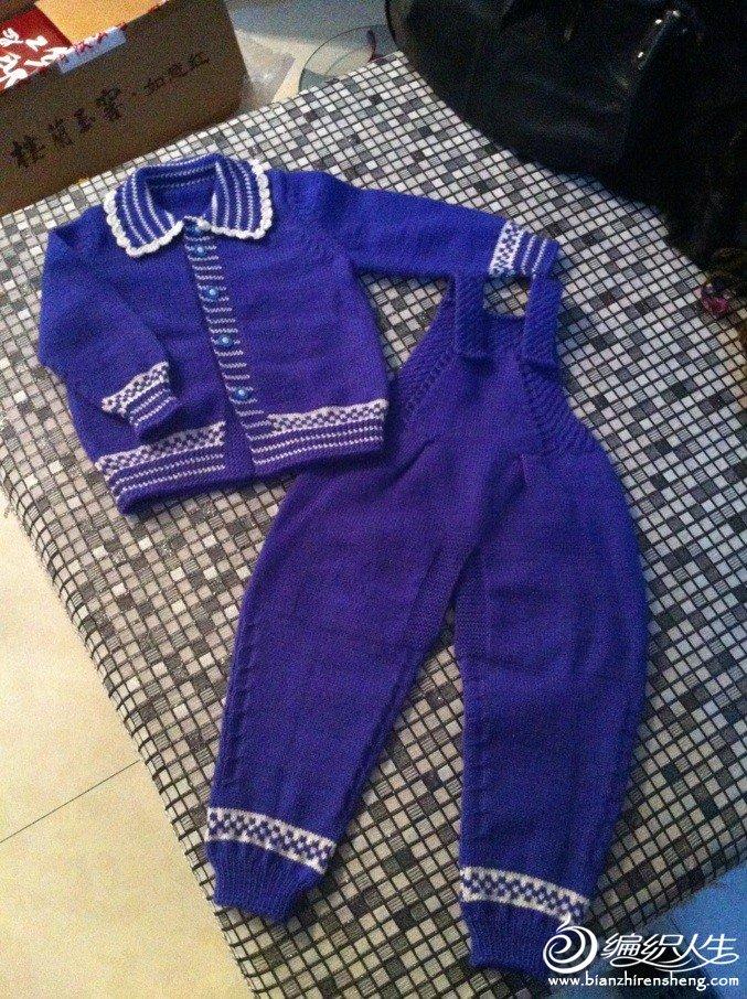 2~3岁宝宝穿的毛衣!蓝色!