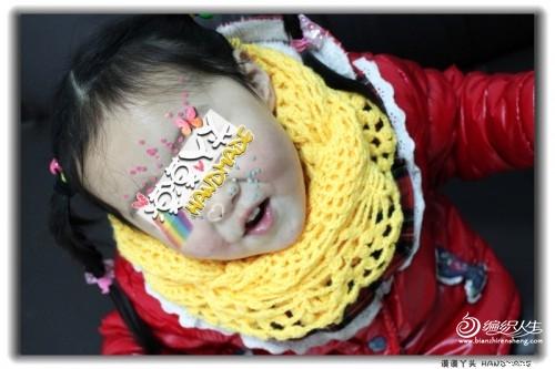 [围巾披肩] 漠漠丫头 ==【幼幼版红颜】 改版女童围巾 - yn595959 - yn595959 彦妮