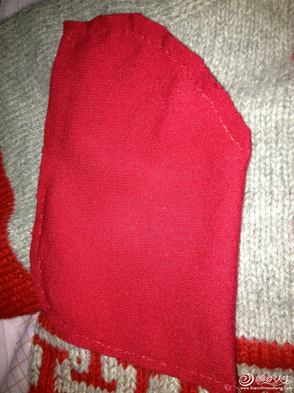 儿童唐装毛衣