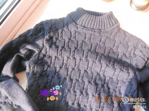 美琪家的纯羊毛成就公公的毛衣