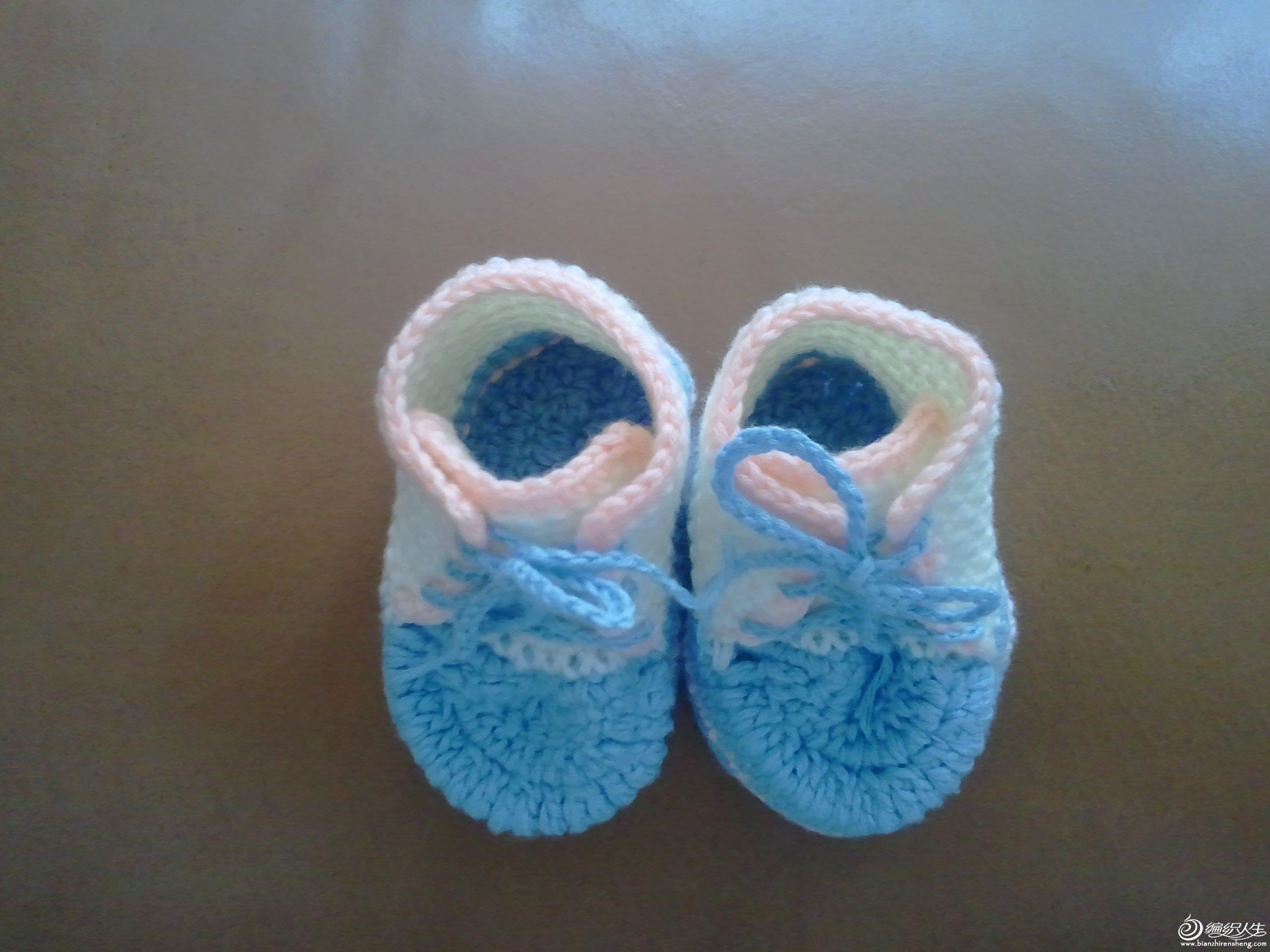 给我家宝贝勾的小鞋子
