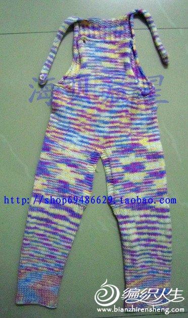 儿童毛衣背带裤 - 编织人生