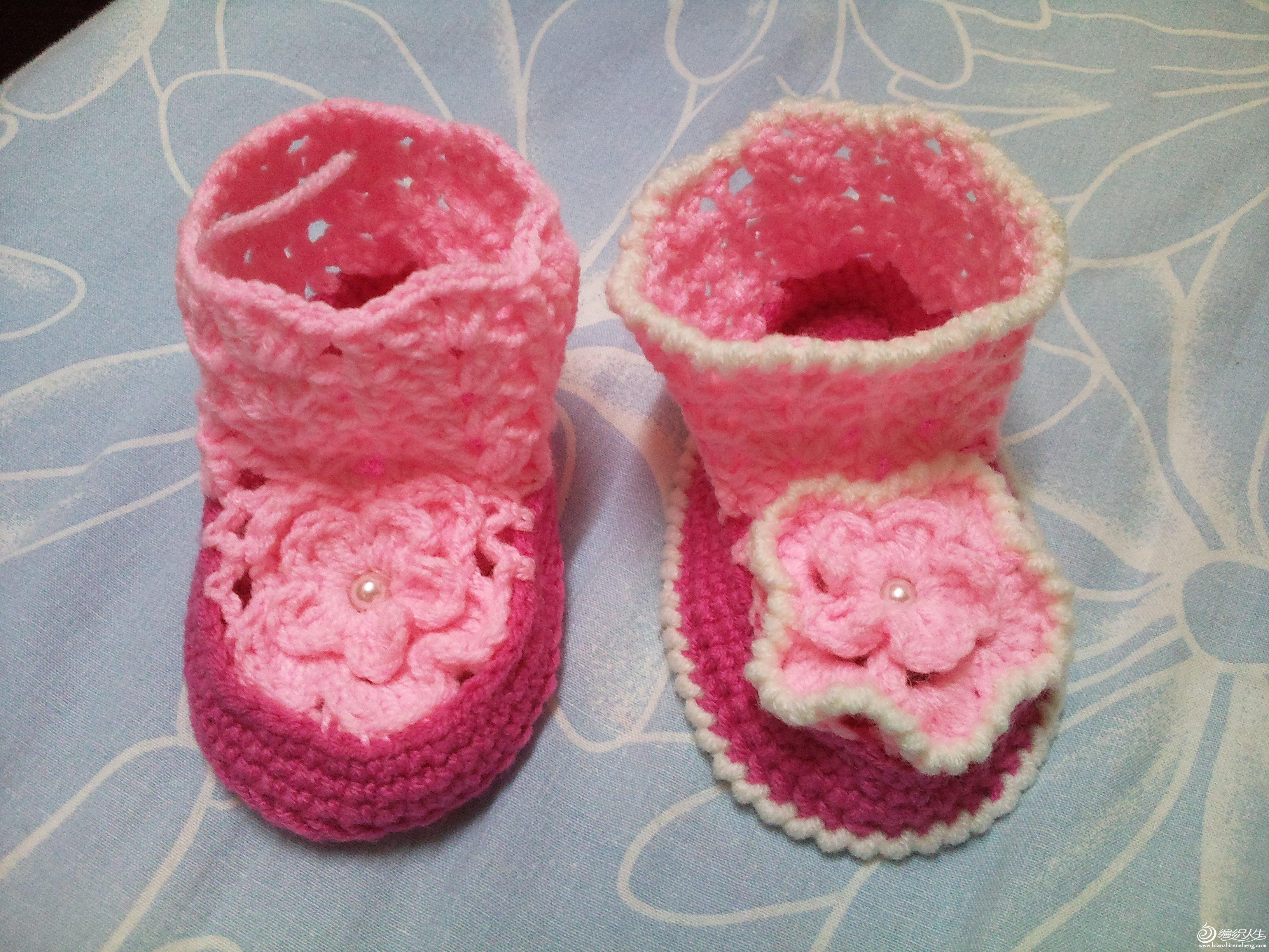 迷你婴儿鞋(2)——图解来啦!
