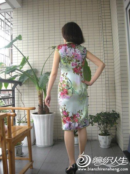 春天的温暖----丝缎老旗袍