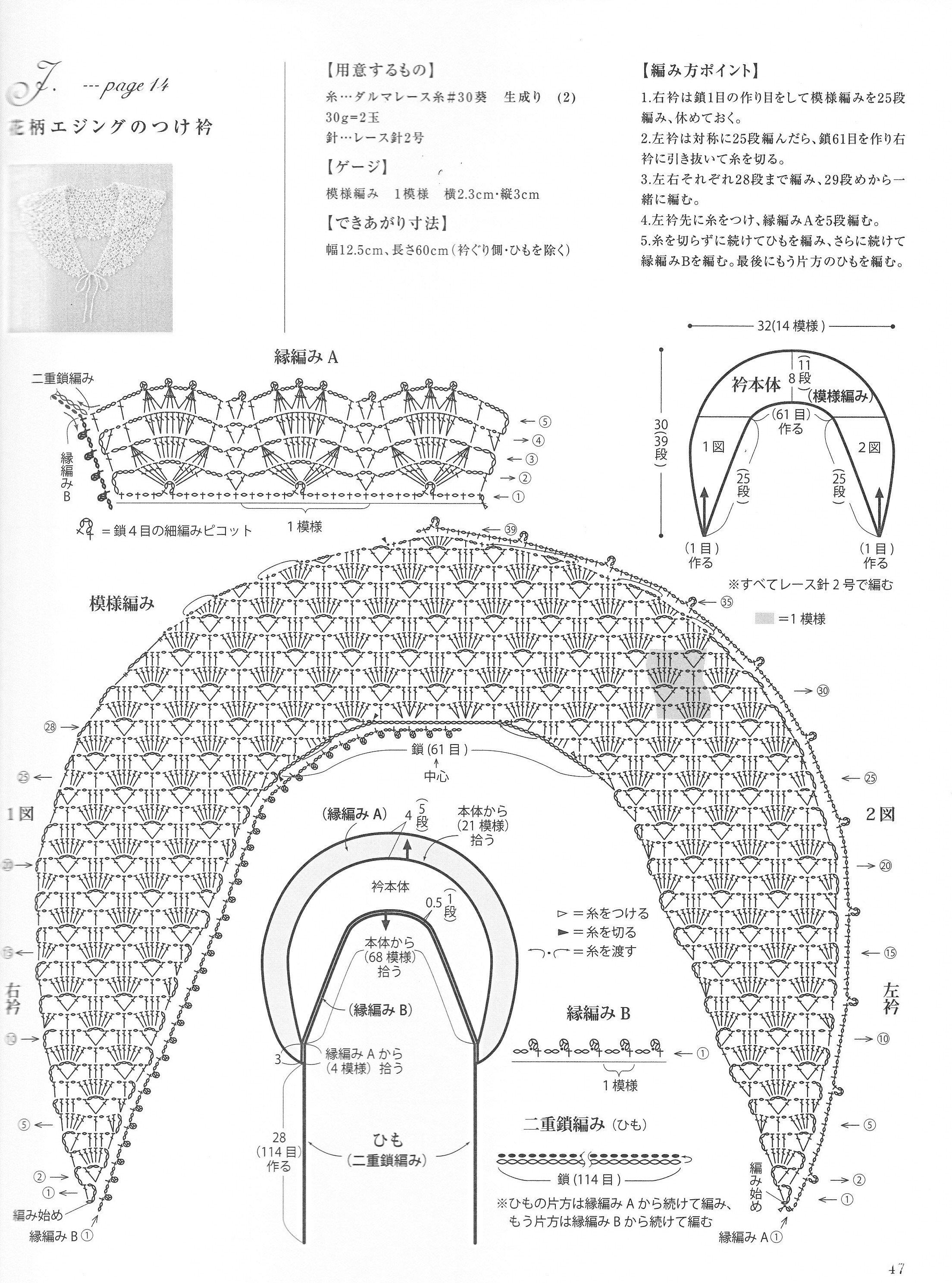 花边图案-编织家园-编织人生论坛