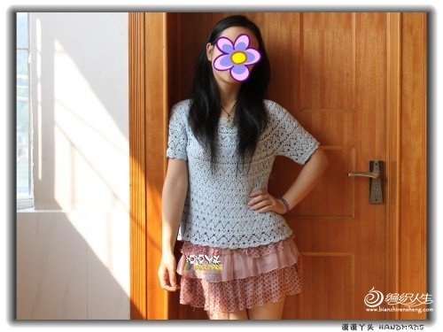 [女式毛衣] 漠漠丫头 ==【青葱岁月】 经典A字型葱衣 - yn595959 - yn595959 彦妮
