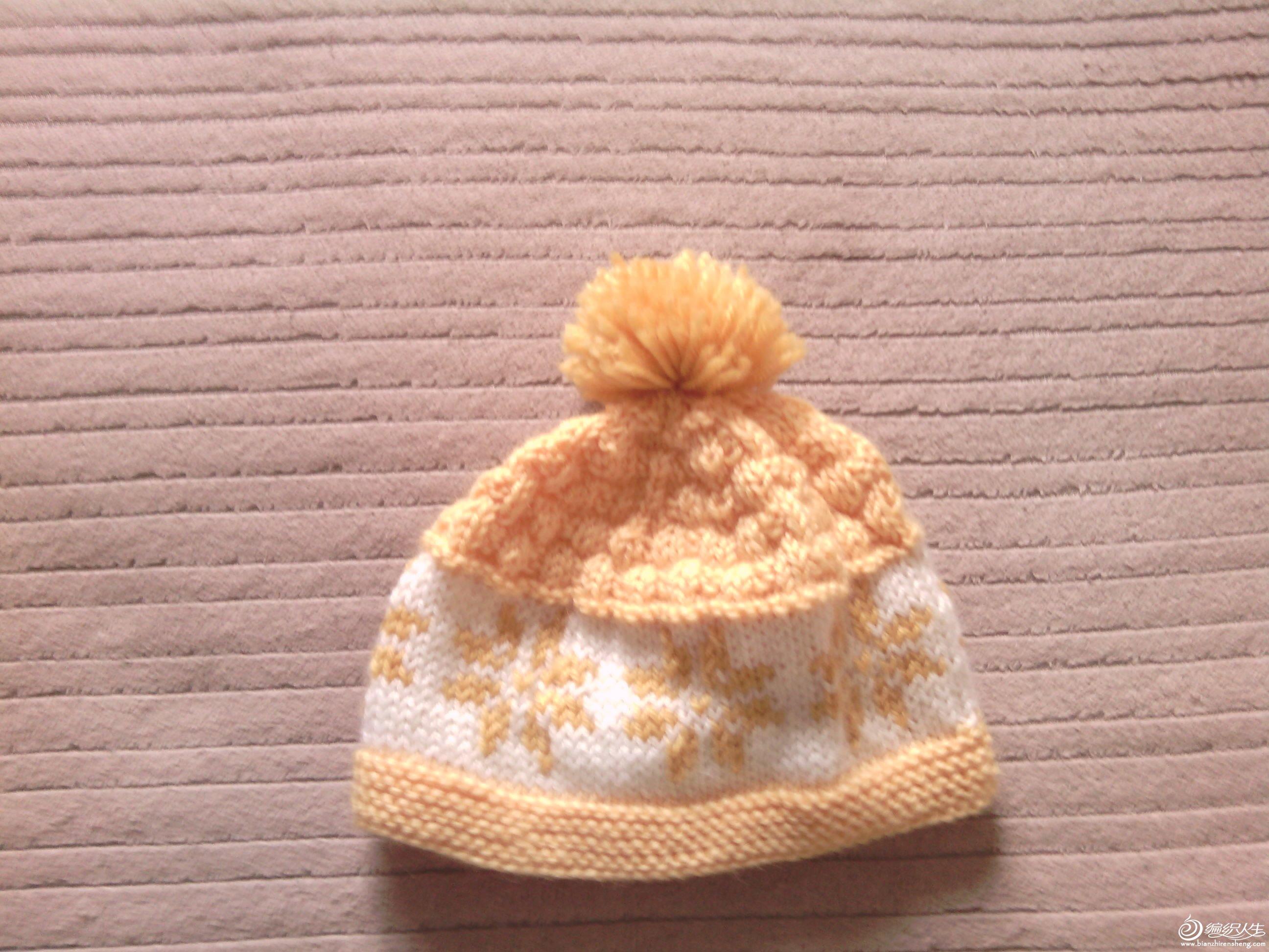 宝宝可爱的披肩帽子