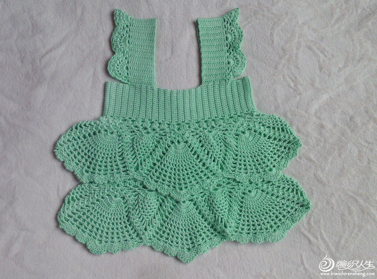 儿童毛衣编织钩针版