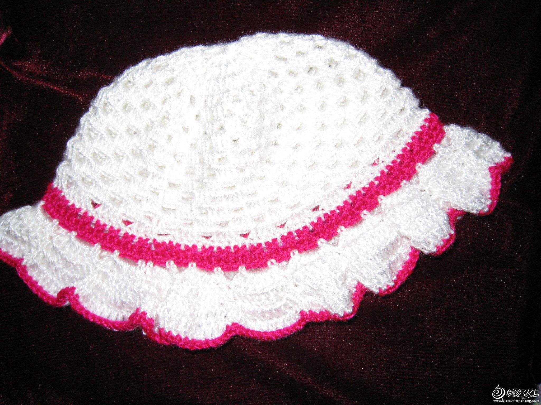 绒绒线帽子 61  儿童可爱撞色糖果色短手套 61  小海马儿童钩衣