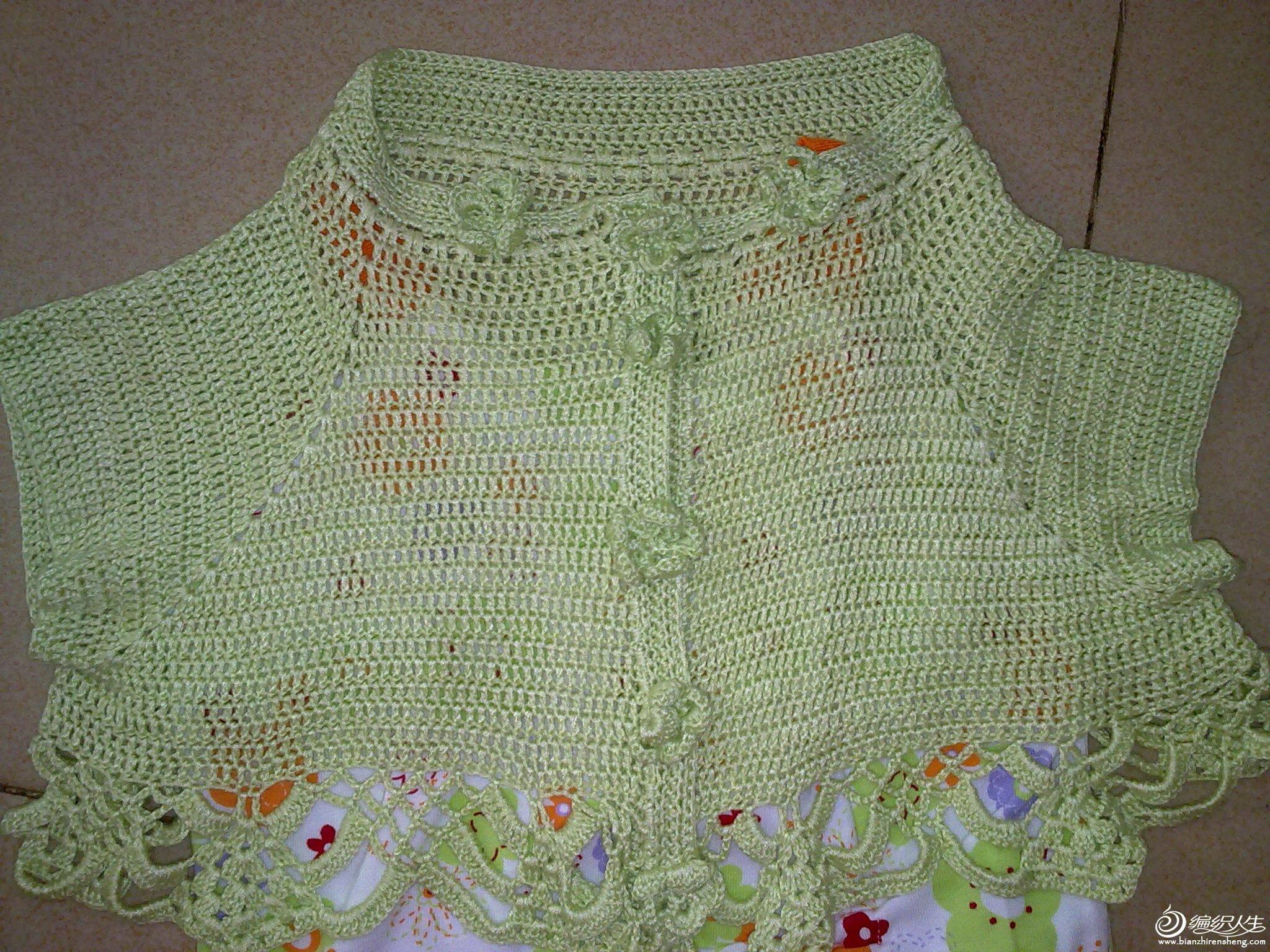 一岁小女孩淡雅夏季外套