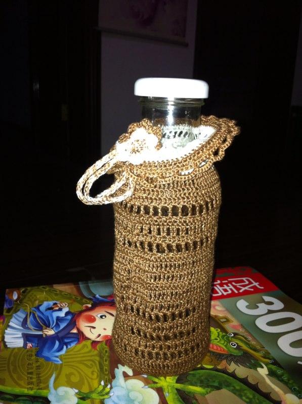 编织水杯套_水杯 - 编织人生