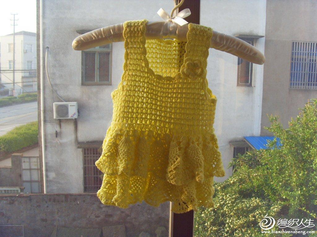 61  第一次织的背心裙 61  仿依可爱老师的双边背心裙 61  公主