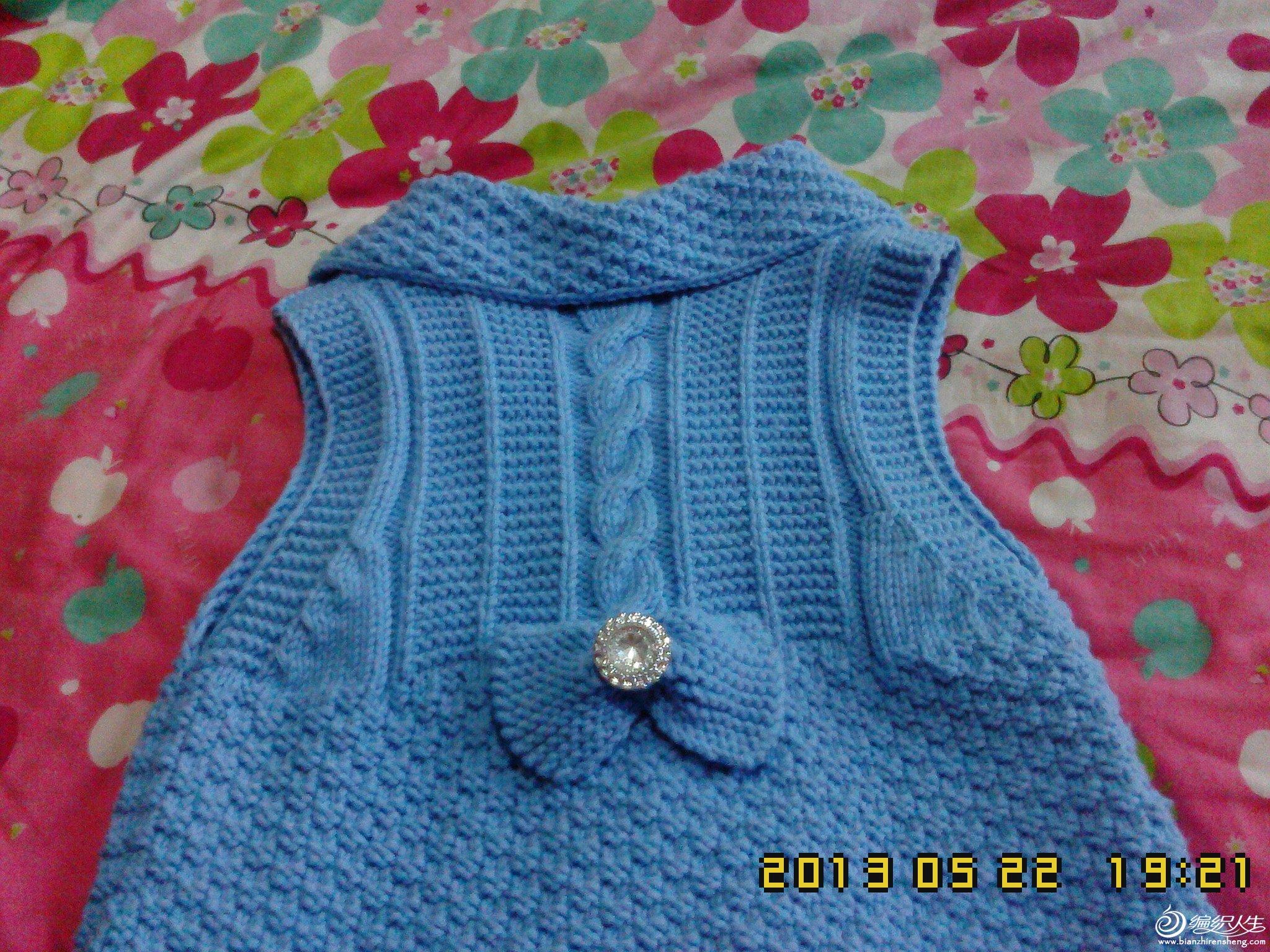 69 儿童服饰编织交流 69 儿童毛衣(棒针) 69 女儿的开衫背心裙