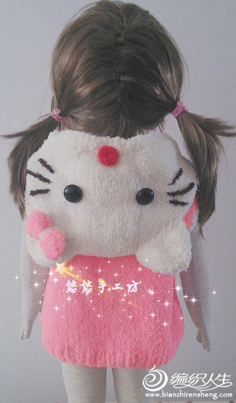 绒绒线卡通衣服(kt猫 小老虎 阿狸衣)