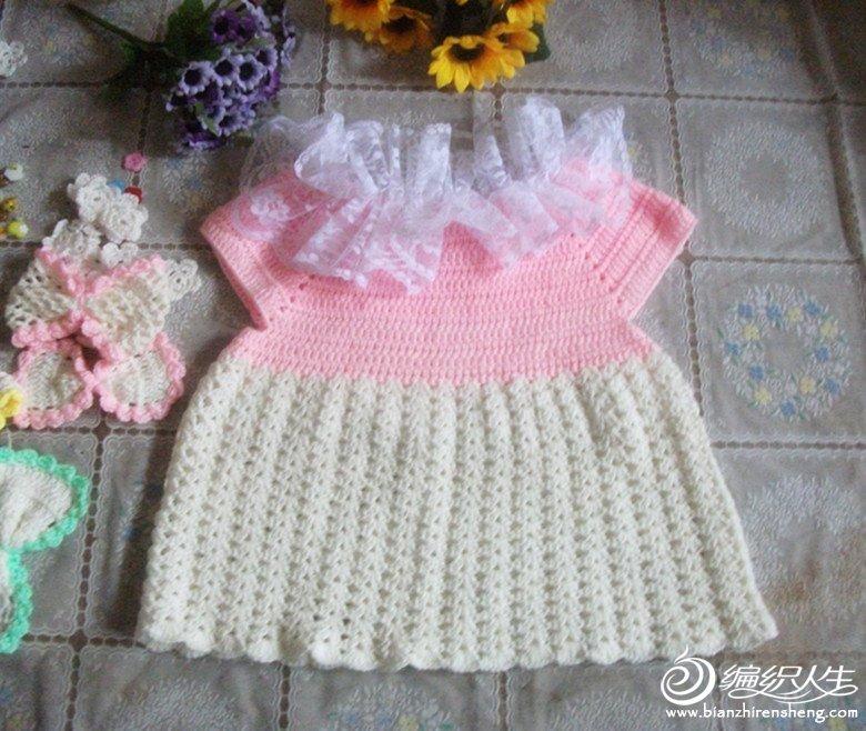 换季清货 成堆的 花边领宝宝背心 裙子 毛衣_编织人生