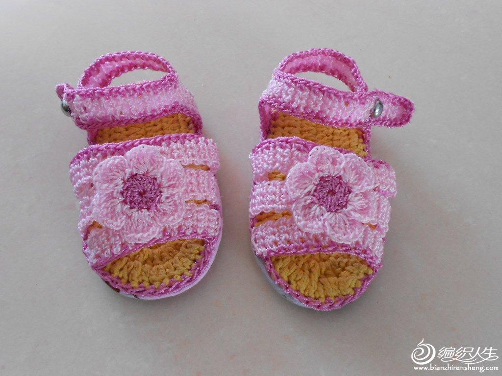 钩的宝宝凉鞋