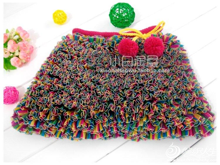 编织视频 可爱漂亮地小裙子 超级漂亮的哦!