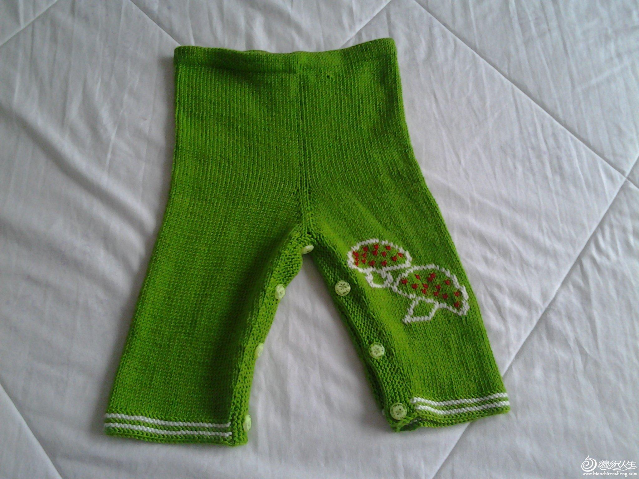 漂亮的宝宝套装和背带裤_编织人生论坛