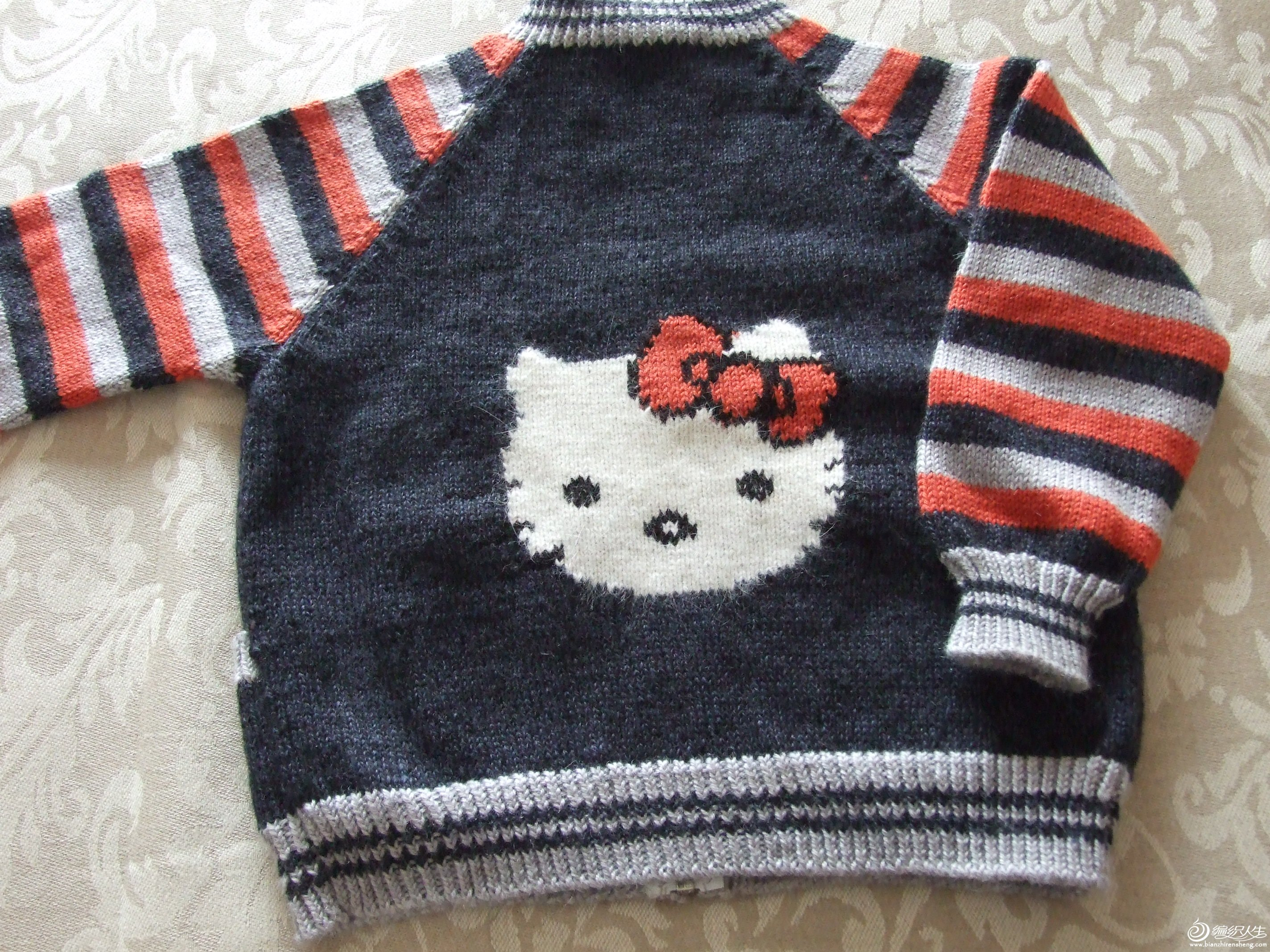 小猫咪儿童毛衣
