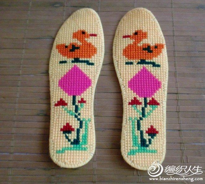 十字繡鞋墊