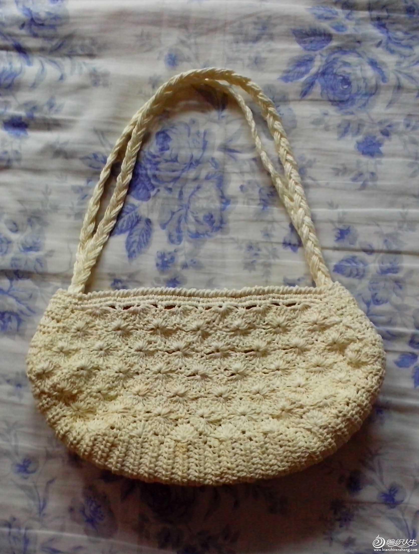 纸绳编织的饺子包