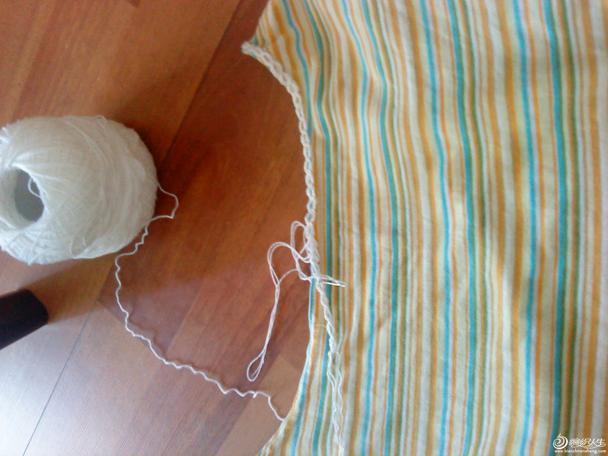 编织蕾丝花边 - 编织人生