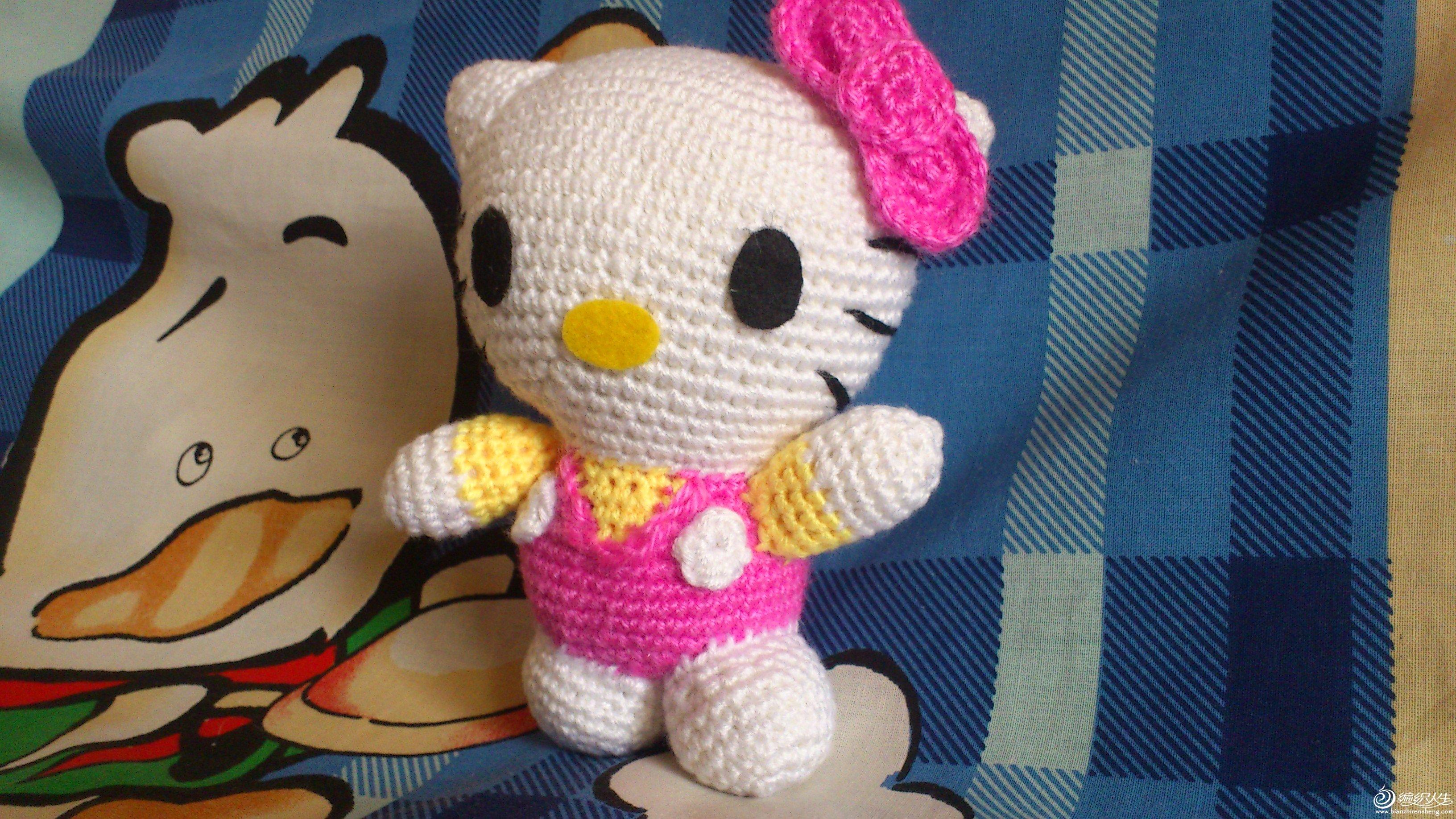 凯蒂猫和她的朋友们_编织人生论坛