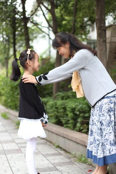峥嵘岁月作品:母女花——亲子套装 - 心灵印记 - 指间纱