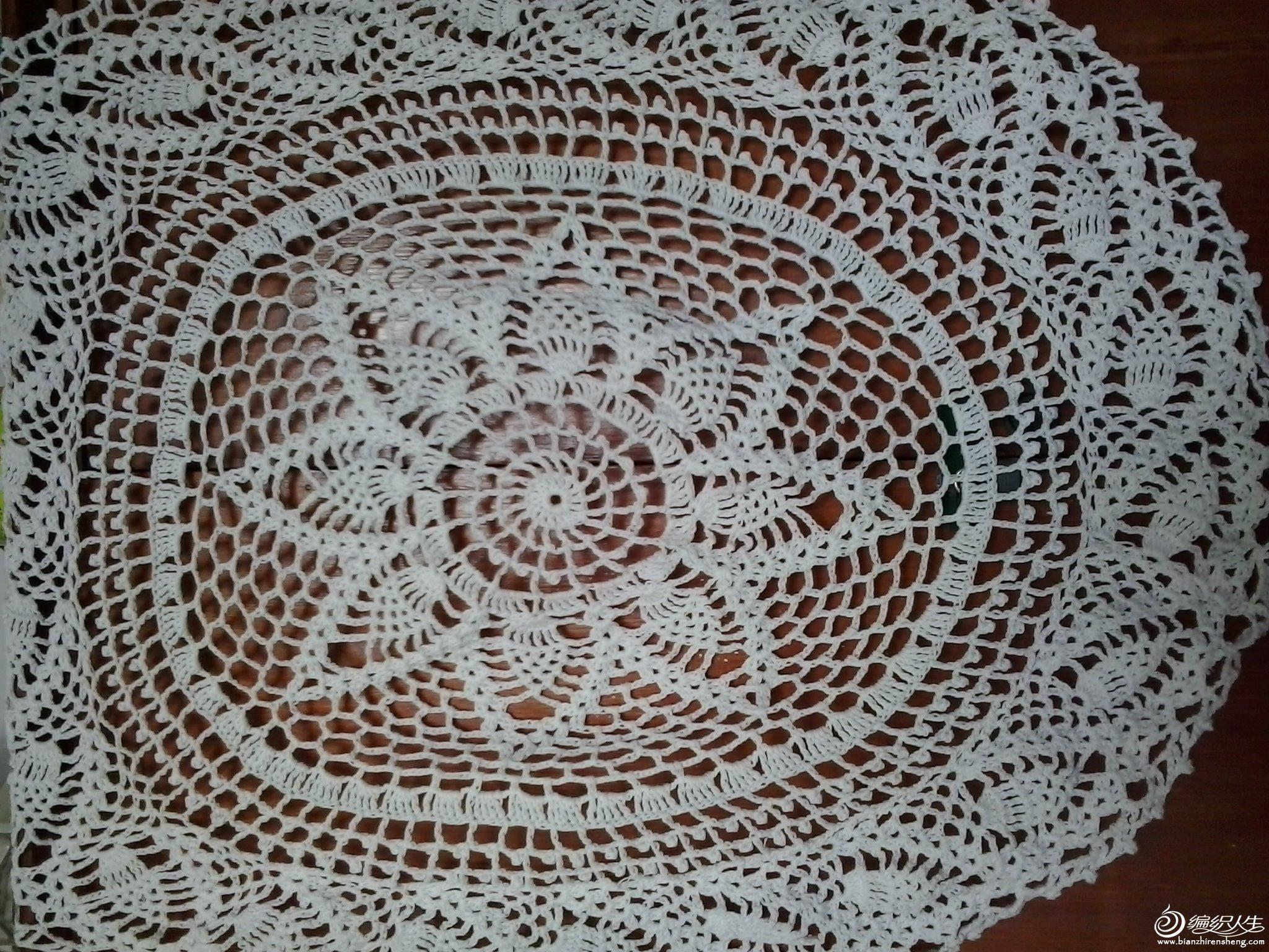 圆形与长方形的桌布