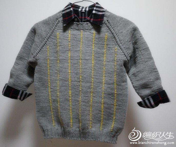 幼儿手工衬衫制作