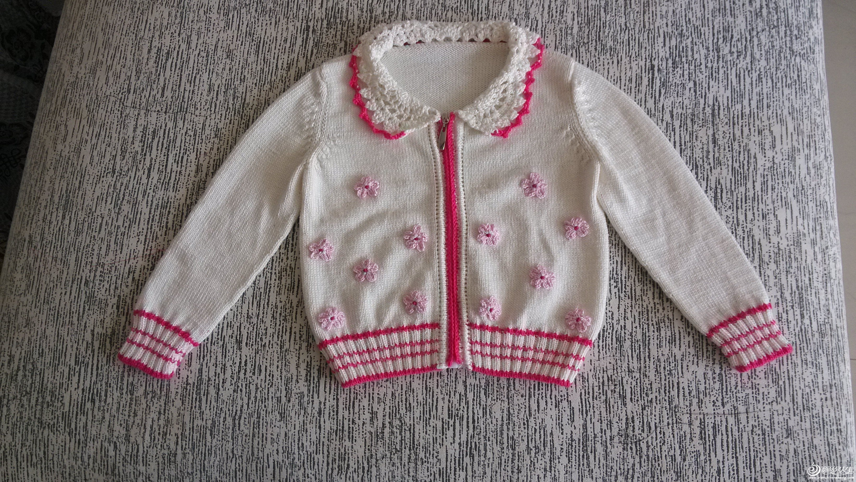 宝宝简单毛衣 - 编织人生
