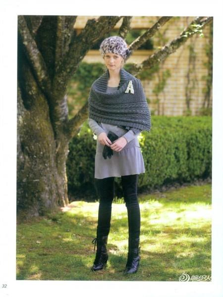 年轻时的青涩 棒针围巾披肩_编织人生论坛 - - 804632173 - 804632173的博客