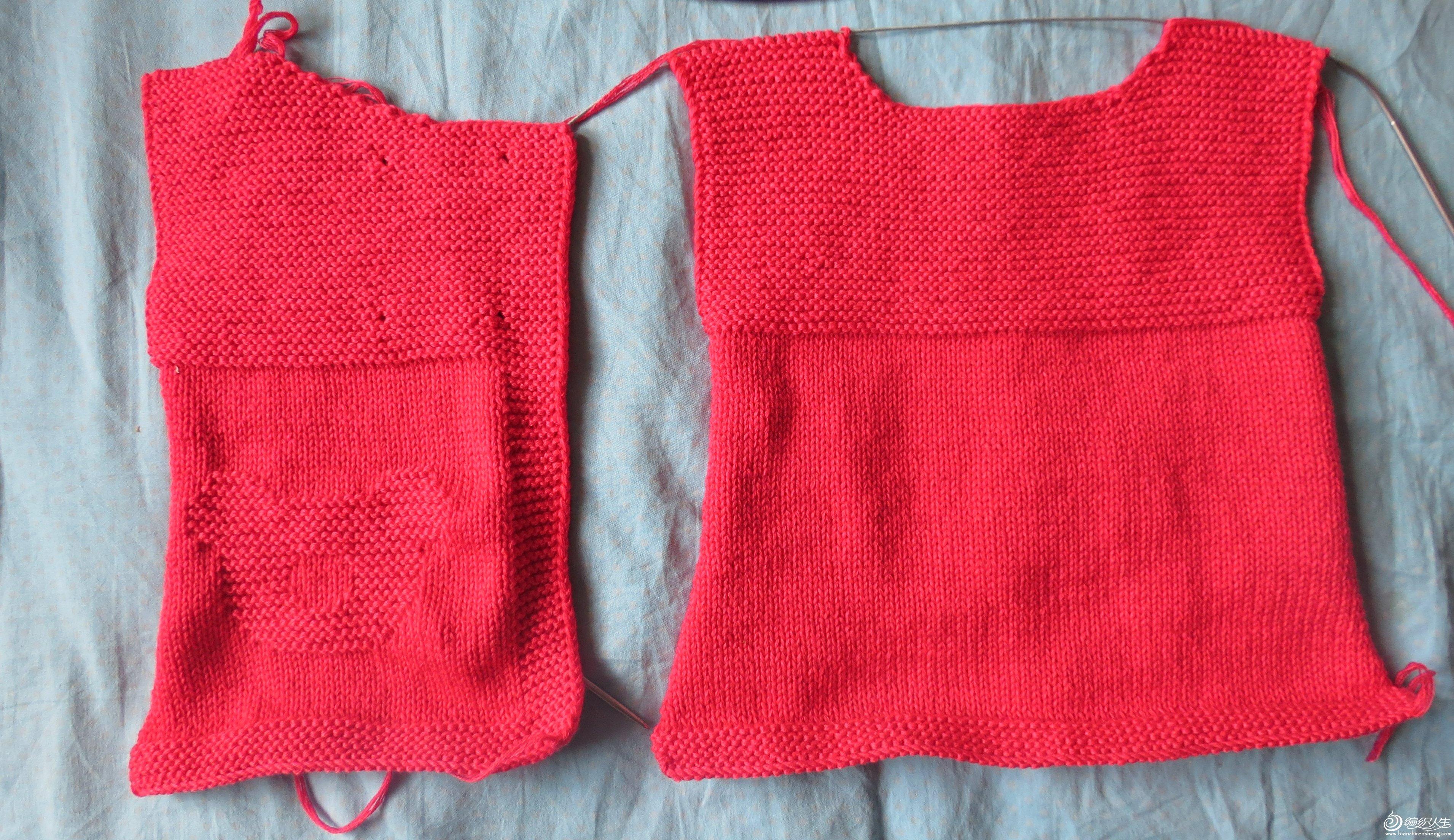 的一款宝宝毛衣