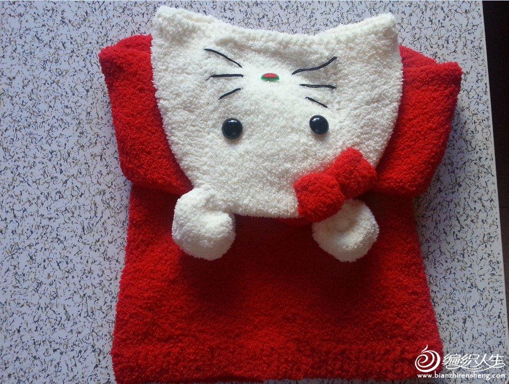 毛巾线织的衣服,里面图片很多很可爱,你一定会喜欢