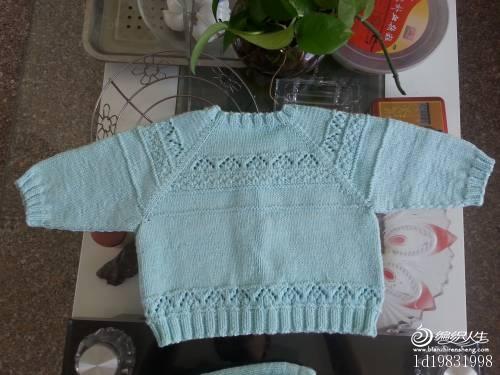 [50~80cm婴幼儿毛衣] 上三套帮客户织的宝宝开衫,超美啊! - 随心索衣 - 随心索衣