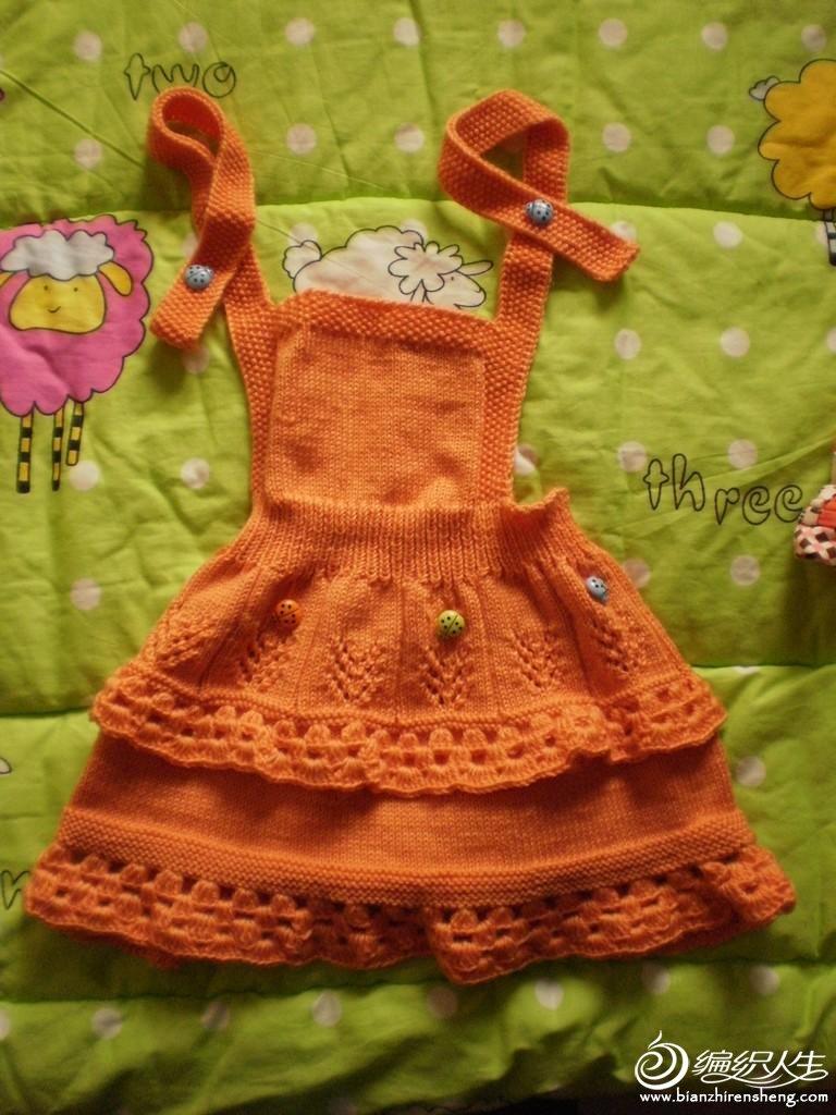 可爱漂亮的宝宝毛线裙
