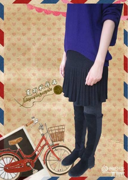 简单实用大方的百褶短裙 - 手有于香 - 手有于香的博客
