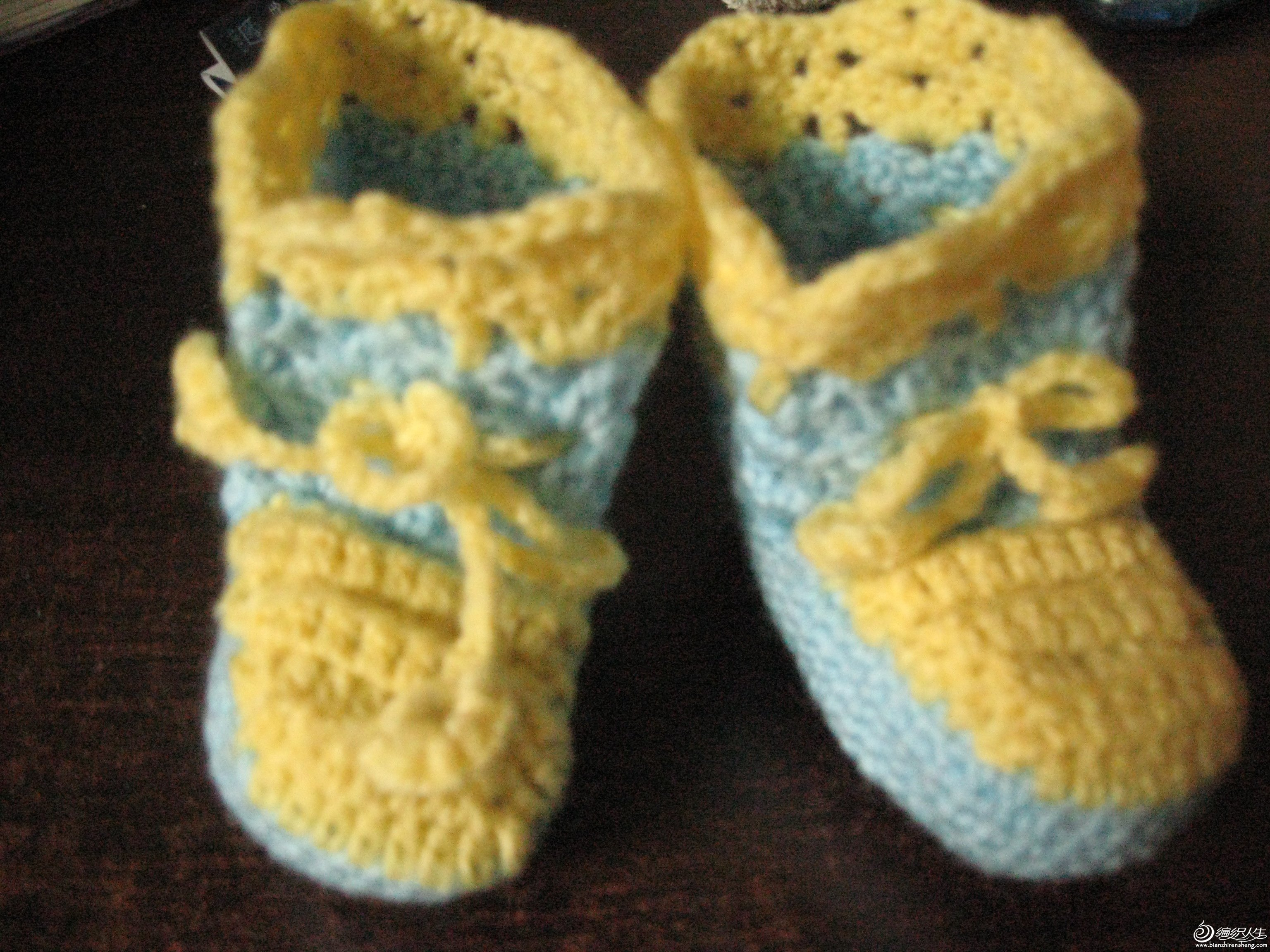 可爱的婴儿鞋
