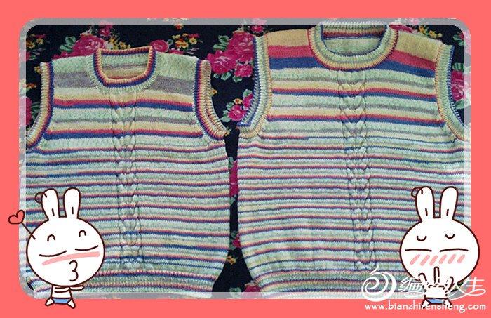 幼儿编织围巾步骤