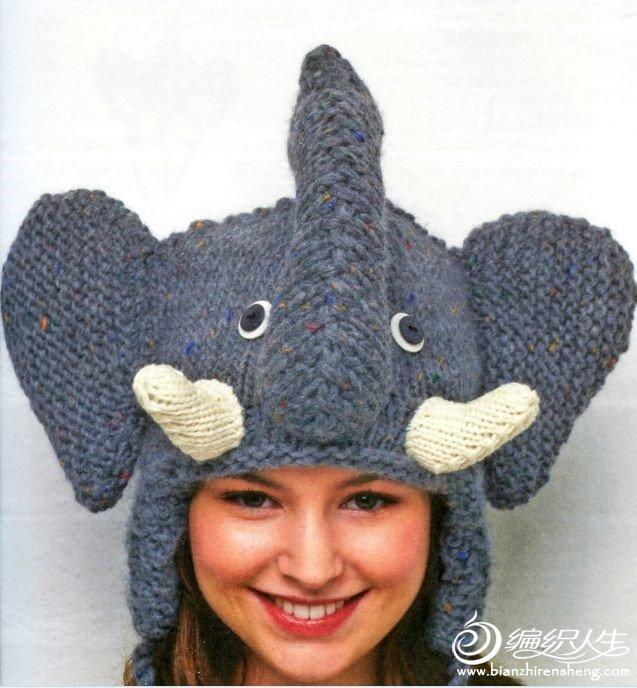 转载:超级可爱的动物帽子_编织人生论坛